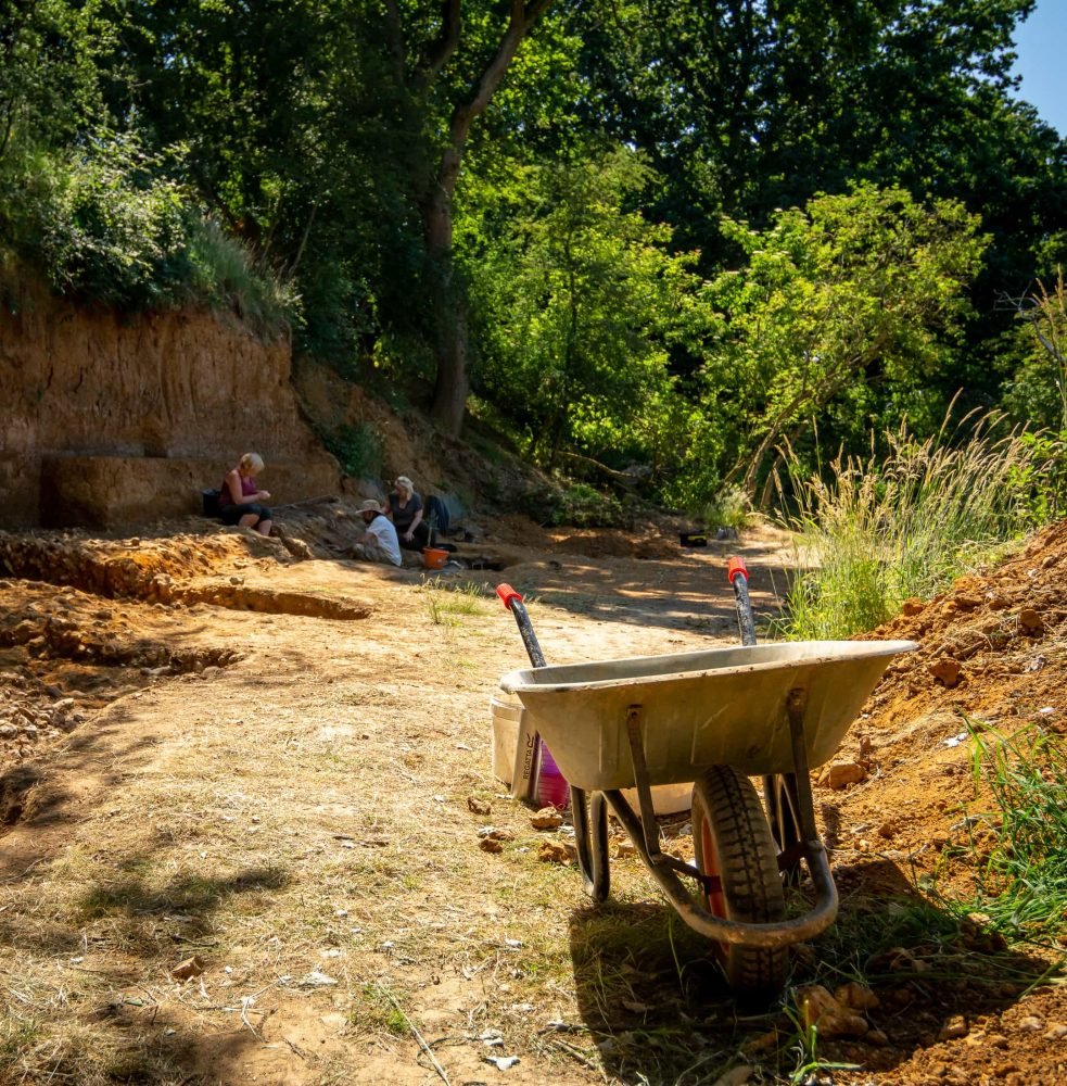 The Clay Pit at the Barnham Palaeolithic Excavations