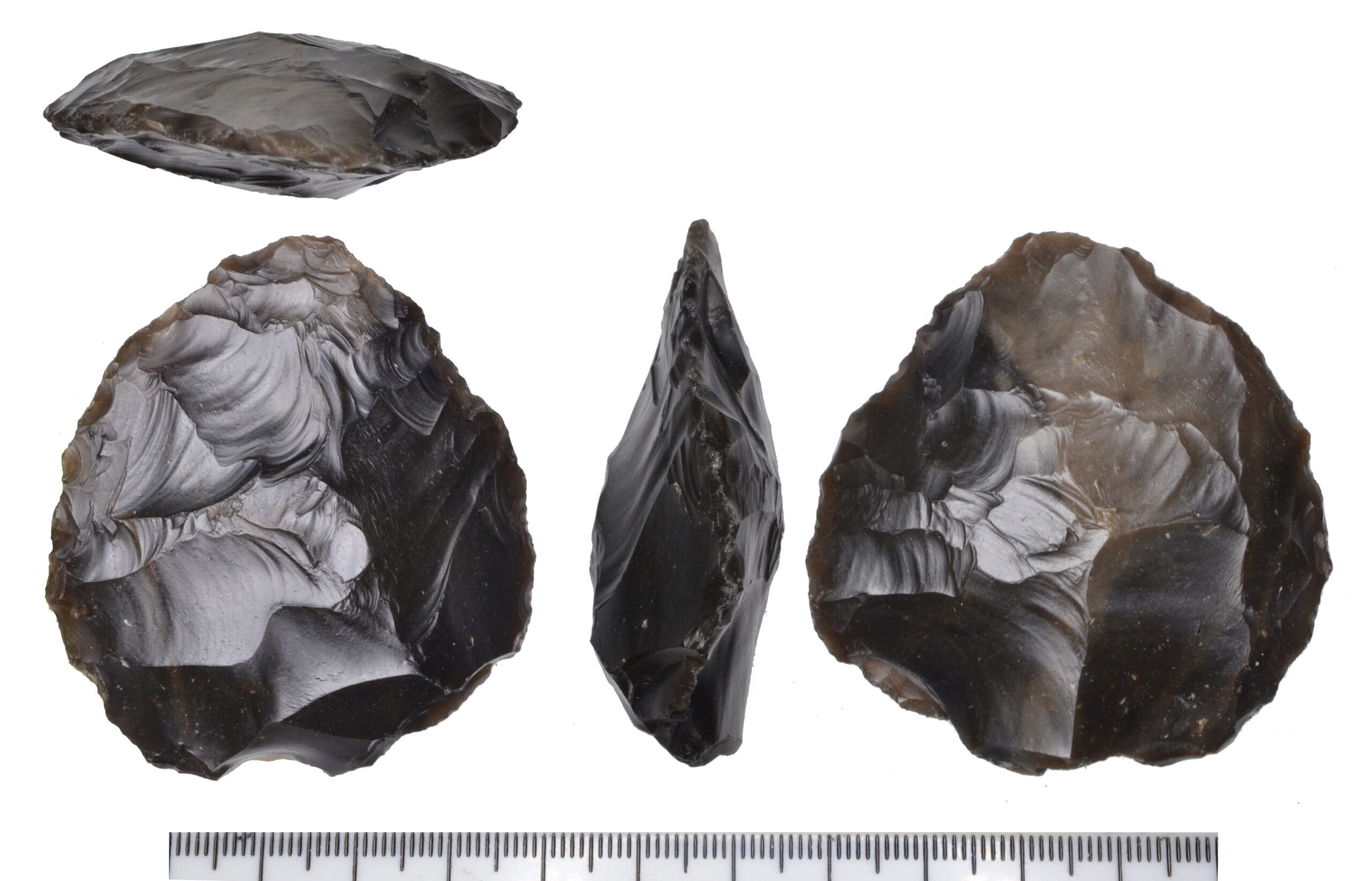 Palaeolithic handaxe from Happisburgh