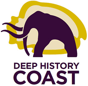Logo for Deep History Coast